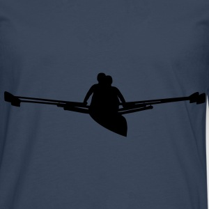 Rowing pair T-Shirts - Men's Premium Longsleeve Shirt