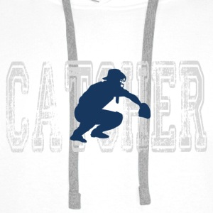 Catcher.gif Tee shirts - Sweat-shirt à capuche Premium pour hommes