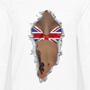 sexy flag UK Tee shirts - T-shirt manches longues Premium Homme
