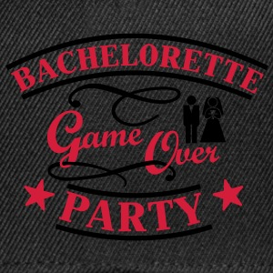 Bachelorette Game Over T-skjorter - Snapback-caps