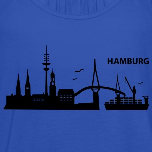 Hamburg Skyline - Frauen Tank Top von Bella