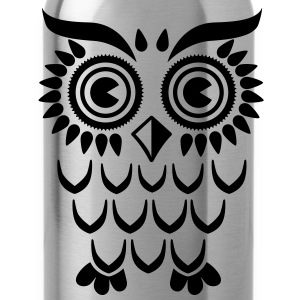 Owl Eule T-Shirts - Trinkflasche
