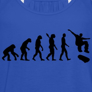 Evolution Skateboard Kinder T-Shirts - Frauen Tank Top von Bella