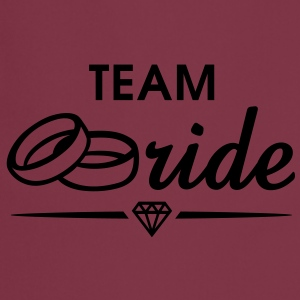 TEAM Bride Diamond T-Shirt WP - Forklæde