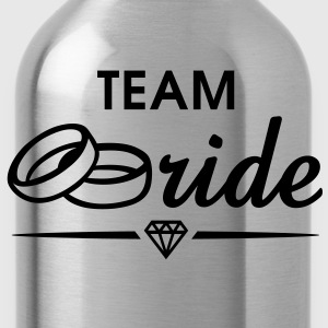 TEAM Bride Diamond T-Shirt WP - Drinkfles