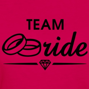 TEAM Bride Diamond T-Shirt WP - Women's Premium Longsleeve Shirt