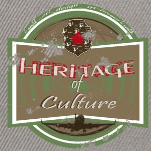 heritage of culture- homme - Casquette snapback