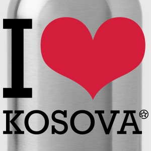 I LOVE KOSOVA T-shirt - Borraccia