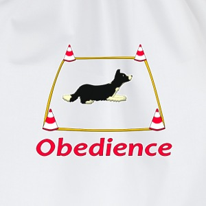 Obedience 3 Velvet T-shirts - Gymtas