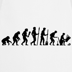 Evolution needs a break! T-Shirts - Cooking Apron