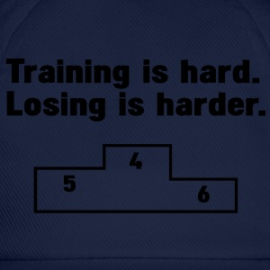 Training vs losing T-shirts - Baseballcap
