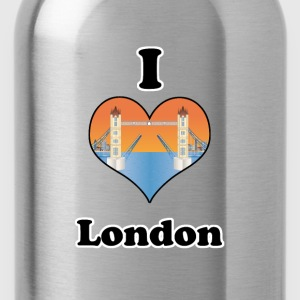 I love London-open tower bridge at sundown Tee shirts - Gourde