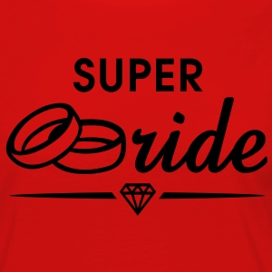 SUPER Bride Diamond T-Shirt WR - Women's Premium Longsleeve Shirt