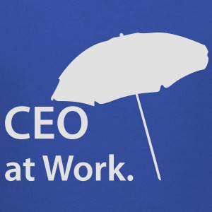 CEO at Work, Beach, Strand, Boss, Spring - Kids' Premium Hoodie