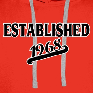 Established 1968 T-Shirts - Männer Premium Hoodie
