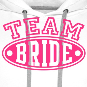 TEAM BRIDE T-Shirt - Sweat-shirt à capuche Premium pour hommes