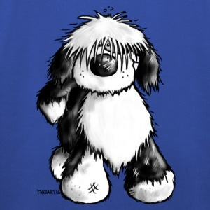 Tibetan Terrier- dog cartoon - t- shirt design T-Shirts - Kids' Premium Hoodie