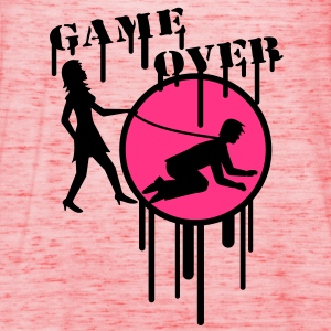 game_over_graffiti_stamp T-shirts - Vrouwen tank top van Bella