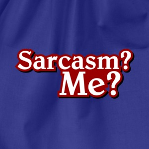 sarcasm T-Shirts - Drawstring Bag