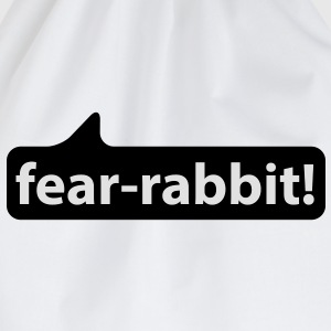 Fear Rabbit | Angsthase T-Shirts - Turnbeutel