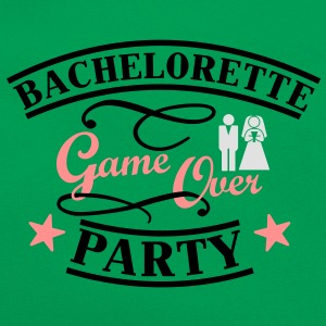 Bachelorette Game Over T-skjorter - Retro veske