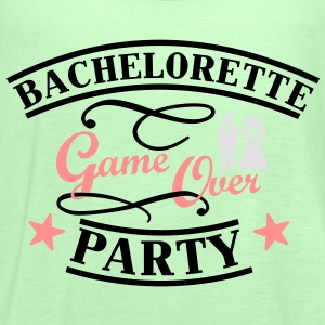 Bachelorette Game Over T-Shirts - Frauen Tank Top von Bella