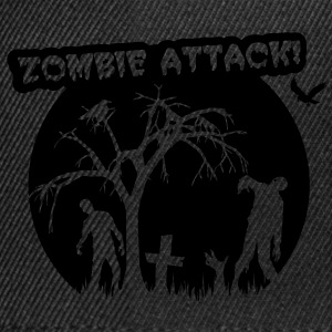 Zombie Attack T-Shirts - Snapback Cap