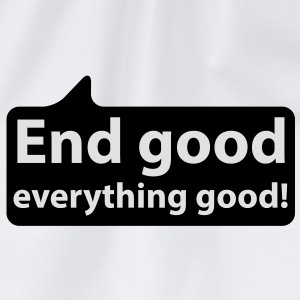 End good everything good | Ende gut alles gut T-Shirts - Gymbag