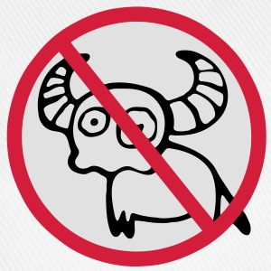 NO Water Buffalo Sign T-Shirts - Baseball Cap