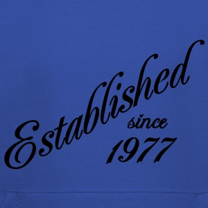 Established since 1977 T-skjorter - Premium Barne-hettegenser