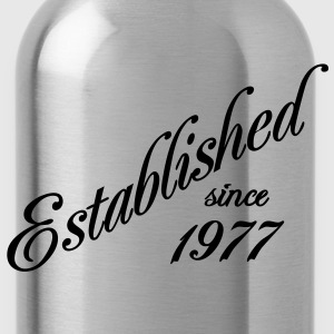 Established since 1977 T-Shirts - Trinkflasche