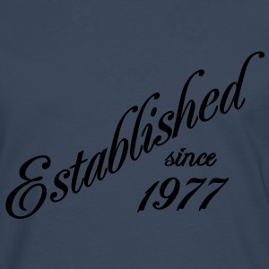 Established since 1977 T-Shirts - Männer Premium Langarmshirt