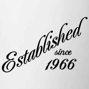 Established since 1966 T-shirts - Mugg