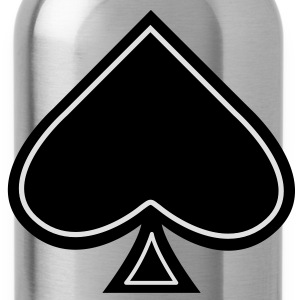 Ace of Spades - schoppen aas - Drinkfles
