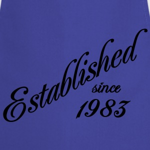 Established since 1983 Tee shirts - Tablier de cuisine