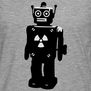 techno, robot Tee shirts - T-shirt manches longues Premium Homme