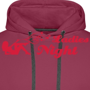 ladies night T-shirts - Herre Premium hættetrøje
