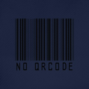 bar code no QR code T-design by patjila T-Shirts - Baseball Cap
