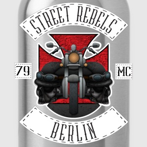 Street Rebels Berlin MC Rockerkutte by Individual  - Trinkflasche