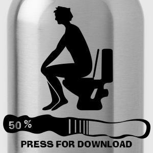 Press for Download - Trinkflasche