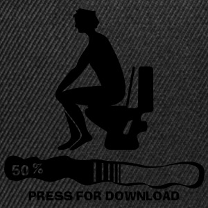Press for Download T-shirts - Snapback Cap
