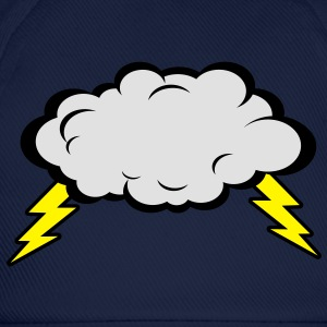 Thunder Cloud T-shirts - Basebollkeps