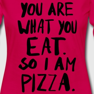 I am Pizza Tee shirts - T-shirt manches longues Premium Femme