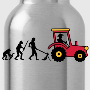 tractor_evolution T-Shirts - Water Bottle