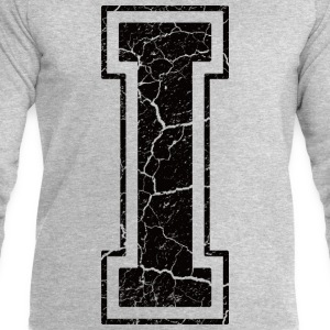 Letter I in the grunge look T-Shirts - Men's Sweatshirt by Stanley & Stella