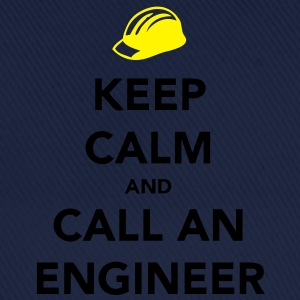 Keep Calm Engineer T-shirt - Cappello con visiera