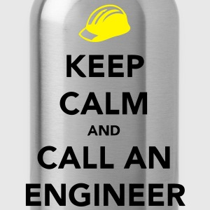 Keep Calm Engineer T-shirts - Vattenflaska