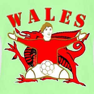 Wales football dragon celebration Kids' Shirts - Baby T-Shirt
