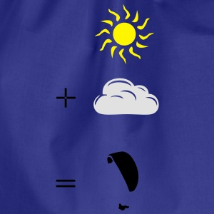 Paragliding calculation Tee shirts - Sac de sport léger