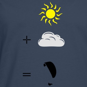 Paragliding calculation T-Shirts - Men's Premium Longsleeve Shirt